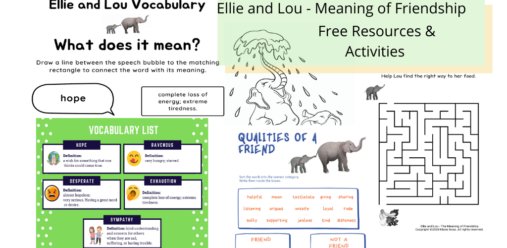 free resources teachers parents homeschooling ellie and lou book
