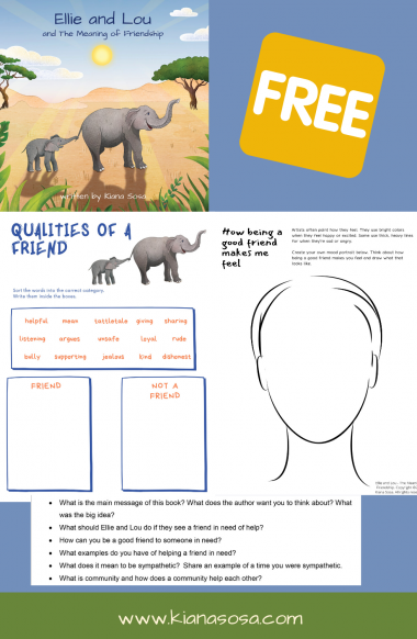 Friendship Freebie - Free activities for children