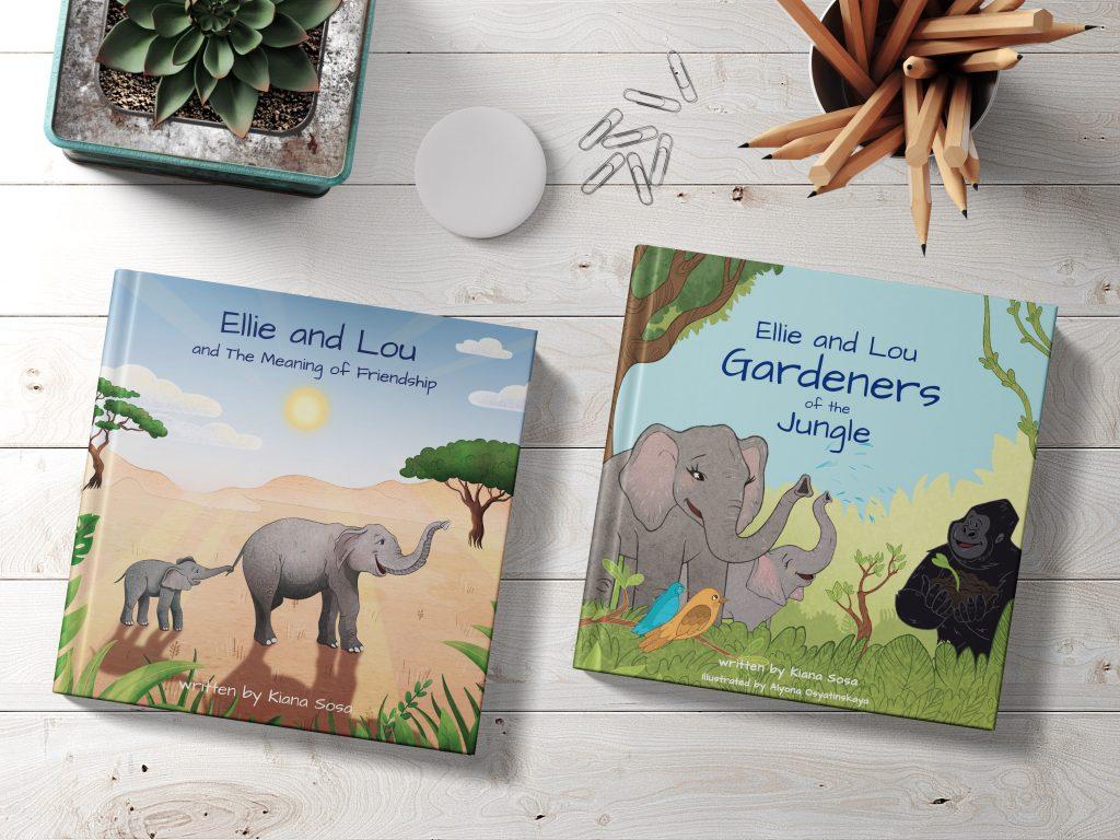 Ellie and Lou books_Kiana Sosa