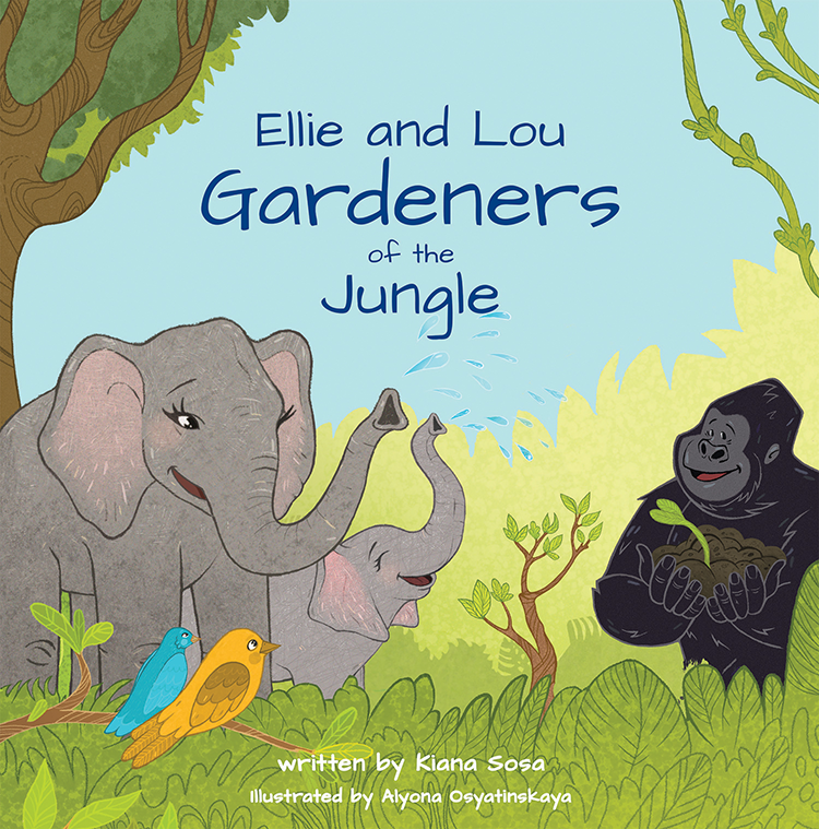 Ellie and Lou Gardeners of the Jungle Cover